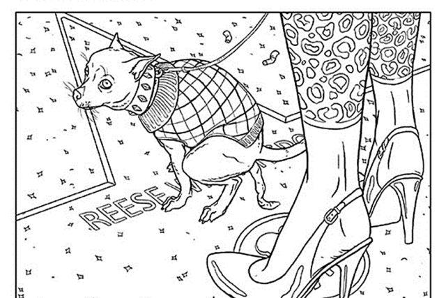 Z komiksu Chucka Palahniuka Návnada