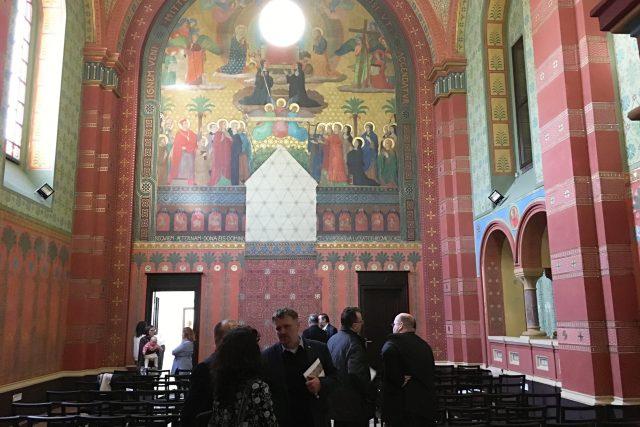 Nově opravená beuronská kaple v Teplicích   foto: Lucie Valášková
