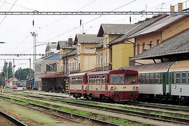 nádraží | foto: Jan Rosenauer