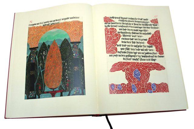Ukázka z Červené knihy C. G. Junga  | foto: Nakladatelství Portál