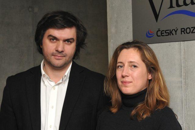 Denis Molčanov a Zuzana Li | foto: Tomáš Vodňanský,  Český rozhlas
