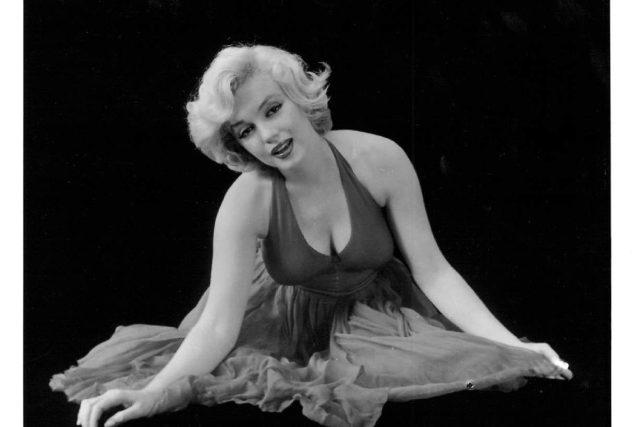 Snímek Marilyn Monroe pro plakát filmu Princ a tanečnice    foto:  © courtesy The John Kobal Foundation
