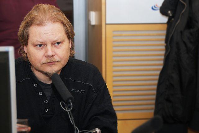 David Jan Žák,  autor bestselleru Návrat Krále Šumavy | foto: Alžběta Švarcová,  Český rozhlas