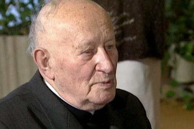 František kardinál Tomášek   foto: ceskatelevize.cz
