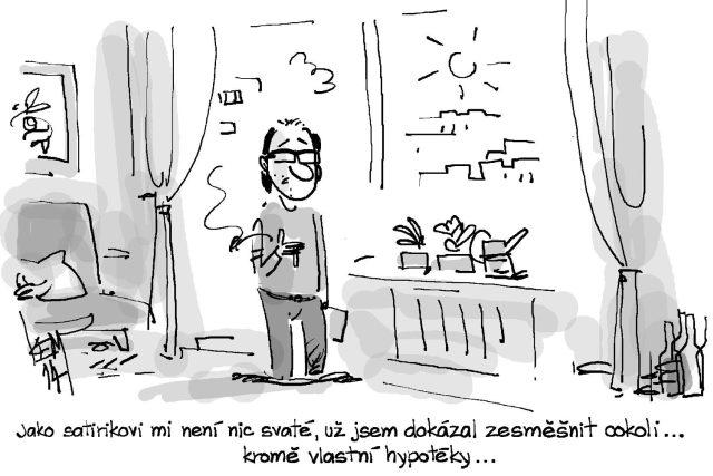karikatura Miroslava Kemela | foto:  oficiální profil Miroslava Kemela na Facebooku