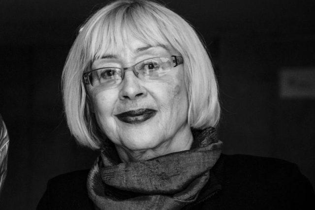 Moderátorka Blanka Stárková   foto: Vojtěch Havlík,  Český rozhlas