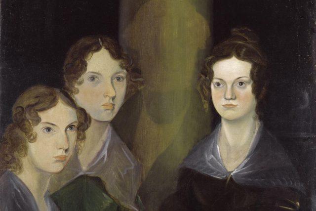 """Četné životopisy od viktoriánské éry po současnost označují Emily za """"nejpodivnější"""" ze """"tří divných sester""""   foto: Public domain,   National Portrait Gallery,  Wikimedia Commons,  Patrick Branwell Brontë"""