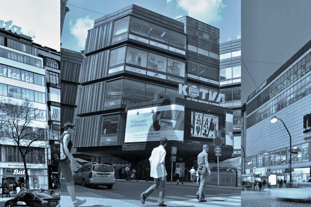 Pražské obchodní domy