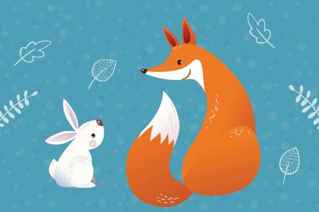 Kdo bude chytřejší? Lišák,  nebo králík? | foto: Shutterstock