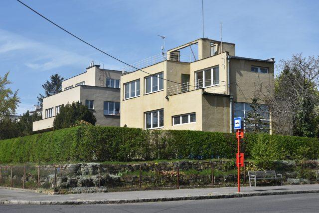 Osada Baba, Dům Bouda, architekt Oldřich Starý, 1932