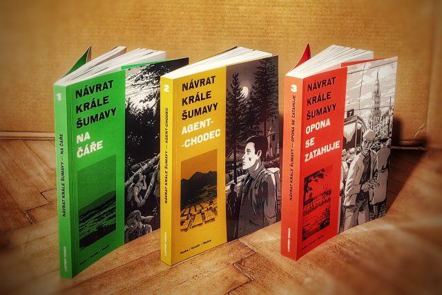 Komiksová trilogie Návrat krále Šumavy | foto: Šárka Jančíková,  Český rozhlas