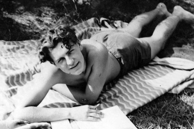 Poslední léto Karla Hiršla. Ve 22 letech byl zastřelen v Terezíně | foto: Alena Wagnerová