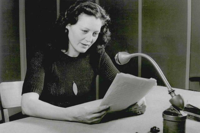 Margarete Schellová,  pražská Němka,  divadelní a rozhlasová herečka a publicistka | foto:  Sudetoněmecký institut