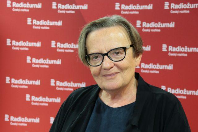 Agnieszka Holland,  režisérka | foto: Anna Duchková,  Český rozhlas,  Český rozhlas