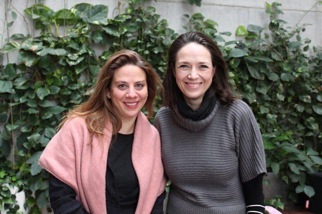 Aneta Langerová,  Tereza Kostková   foto: Julie Kalodová,  Český rozhlas