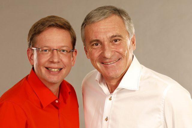 Aleš Cibulka a Jan Čenský   foto: Khalil Baalbaki,  Český rozhlas,  Český rozhlas