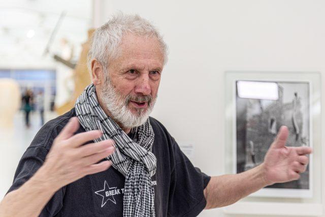 Kurt Gebauer ve Veletržním paláci,  2020 | foto: Profimedia