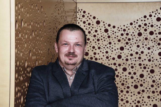 Ředitel organizace Post Bellum a zakladatel projektu Paměti národa Mikuláš Kroupa   foto: Tomáš Roček,  Český rozhlas,  Český rozhlas