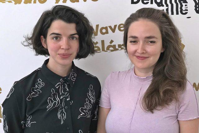 Antonie Formanová a Julie Žáčková | foto: Kateřina Dušková,  Český rozhlas