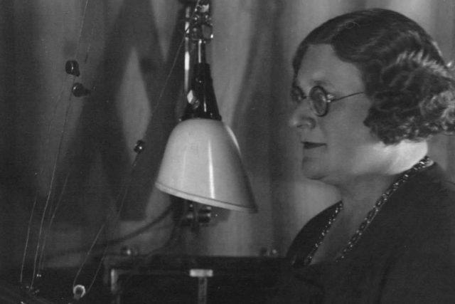 Růžena Nasková ve studiu
