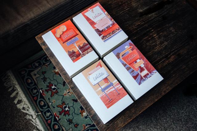 Nové vydání románu Lolita od nakladatelství Paseka   foto: Nakladatelství Paseka