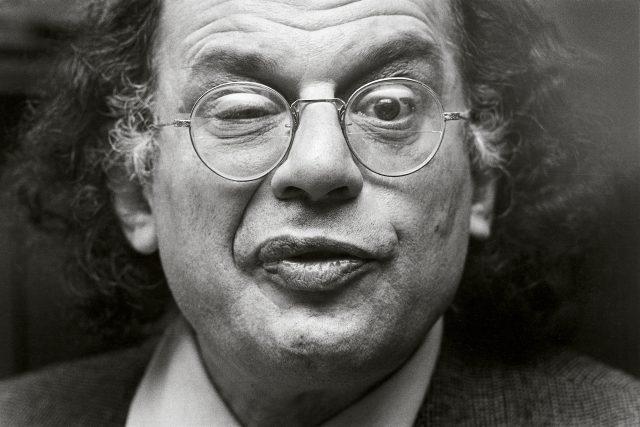 Allen Ginsberg na snímku z roku 1979   foto: Michiel Hendryckx,  Wikimedia Commons,  CC BY-SA 3.0