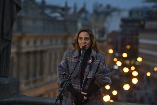 Aneta Langerová o novém singlu Bílý den: Je o prostém životě a úctě k přírodě. V tom mě inspiroval táta   foto: ČTK/Říhová Michaela